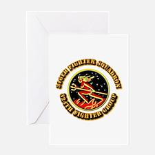 AAC - 316th FS, 324th FG Greeting Card