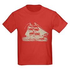 Vintage Sail Ship T