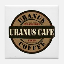 Uranus Cafe Endangered Feces Tile Coaster