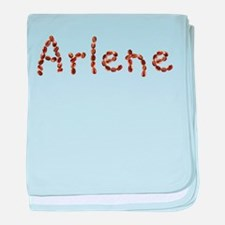 Arlene Coffee Beans baby blanket