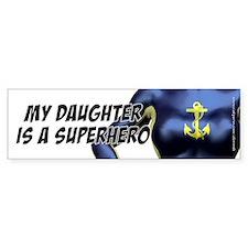 Super Daughter - Drk Blue, Bumper Bumper Stickers