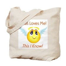 Jesus Loves Me! Tote Bag