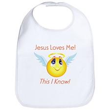 Jesus Loves Me! Bib