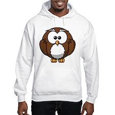 Cartoon Owl Jumper Hoody