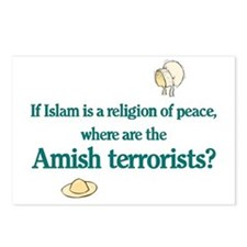 Amish Terrorists Postcards (Package of 8)