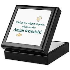 Amish Terrorists Keepsake Box