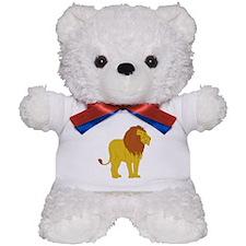 Cartoon Lion Teddy Bear