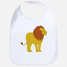Cartoon Lion Bib