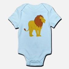 Cartoon Lion Infant Bodysuit