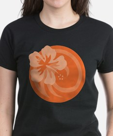 Hibiscus Orange Tee