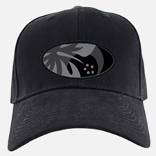 Hibiscus Black Baseball Hat