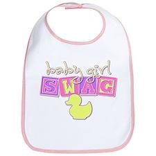 Baby Girl Swag Bib