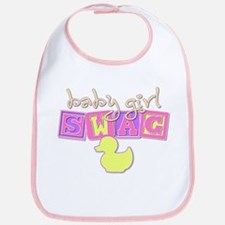 Baby Girl Swag Bib