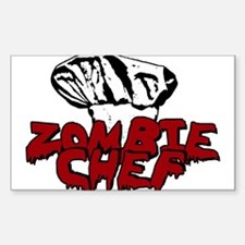 Zombie Chef Decal