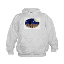 Cat on a Fence Hoodie