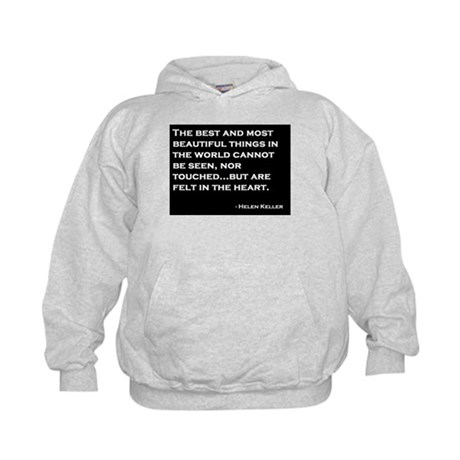 The Most Beautiful Things Kids Hoodie
