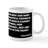 Helen keller Small Mugs (11 oz)