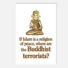 Buddhist Terrorists Postcards (Package of 8)