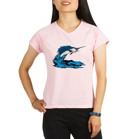 Swordfish Jump Performance Dry T-Shirt