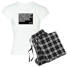 Love, Strength, Courage Pajamas