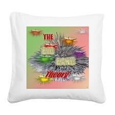 the Big Bang Theory TV Square Canvas Pillow