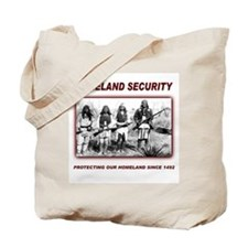 Native Homeland Security Tote Bag
