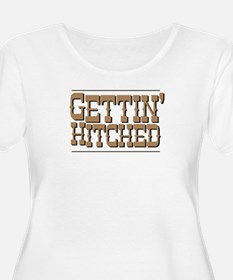 GettinHitchedBrown Plus Size T-Shirt