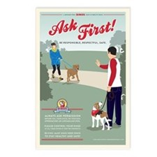 Ask First! Postcards (Package of 8)