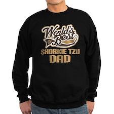 Shorkie Tzu Dog Dad Sweatshirt