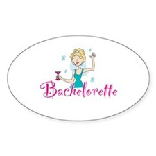 Bachelorette Oval Decal