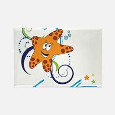 Sea Star Rectangle Magnet