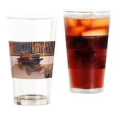 Kids Pony Drawn Wagon Drinking Glass