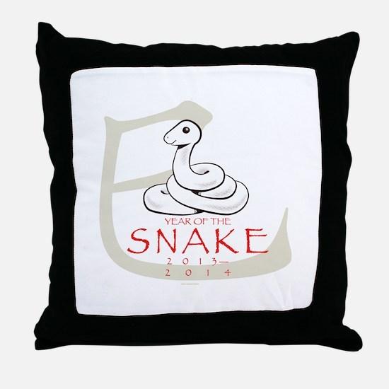 Hebidoshi - Year of the Snake Throw Pillow