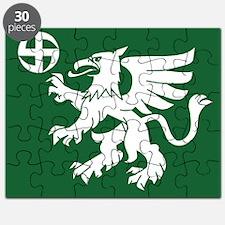 Flag of Utti Jaeger Regiment Puzzle