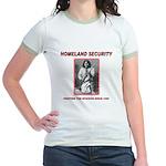 Homeland Security Geronimo Jr. Ringer T-Shirt