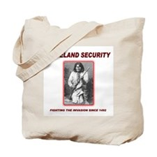 Homeland Security Geronimo Tote Bag