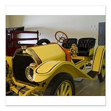 "1908 Roadster Square Car Magnet 3"" x 3"""