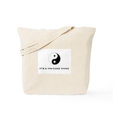 Yin Yang Thing Tote Bag
