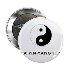 """Yin Yang Thing 2.25"""" Button"""
