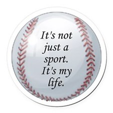 Baseball Car Magnet