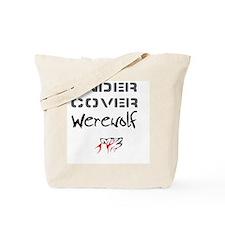 under cover werewolf Tote Bag