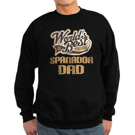 Spanador Dog Dad Sweatshirt (dark)