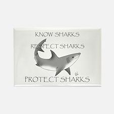 Shark Rectangle Magnet