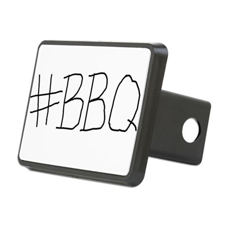 #BBQ Rectangular Hitch Cover