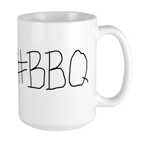 #BBQ Large Mug