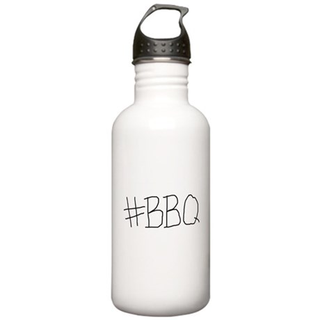 #BBQ Stainless Water Bottle 1.0L