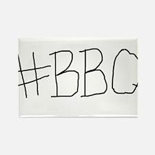 #BBQ Rectangle Magnet