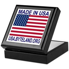 MADE IN USA Keepsake Box