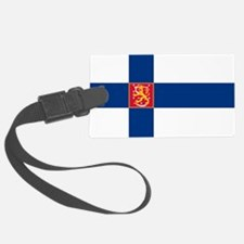 State Flag of Finland Luggage Tag