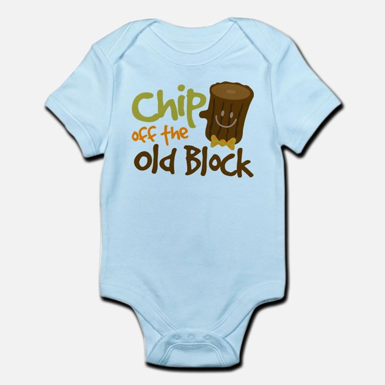 Chip Off The Old Block Infant Bodysuit